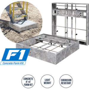 Concrete, Foundation, ERECTASTEP, Footing, Pre-Cast, Molding, Mold